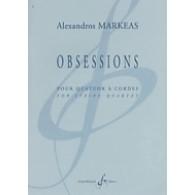 MARKEAS A. OBSESSIONS QUATUOR A CORDES