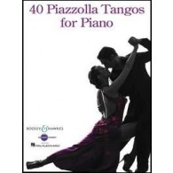 PIAZZOLLA A. 40 PIAZZOLLA TANGOS PIANO