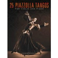 PIAZZOLLA A. 25 PIAZZOLLA TANGOS VIOLON