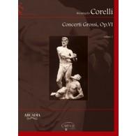 CORELLI A. CONCERTI GROSSI  OP 6 VOL 1 CORDES