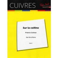 COITEUX F. SUR LA COLLINE COR