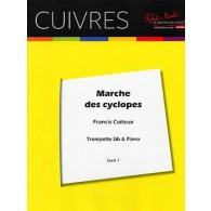 COITEUX F. LA MARCHE DES CYCLOPES TROMPETTE