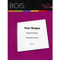 COITEUX F. POUR MAGUY CLARINETTE