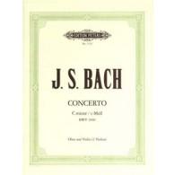 BACH J.S. CONCERTO BWV 1060 VIOLON OU HAUTBOIS OU 2 VIOLONS