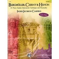 BURGMULLER F./CZERNY K./HANON C.L. ETUDES VOL 2 PIANO