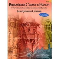 BURGMULLER F./CZERNY K./HANON C.L. ETUDES VOL 3 PIANO
