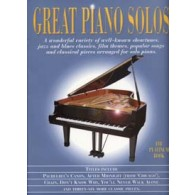 GREAT PIANO SOLOS PLATINUM BOOK