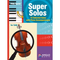 SPARKE P. SUPER SOLOS CELLO