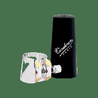 LIGATURE CLARINETTE SIB VANDOREN OPTIMUM AVEC COUVRE  BEC PLASTIQUE