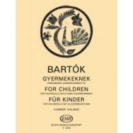 BARTOK B. FUR KINDER VIOLONCELLE