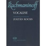 RACHMANINOV S. VOCALISE OP 34 N°14 PIANO