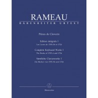 RAMEAU J.P. PIECES DE CLAVECIN VOL 1