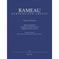 RAMEAU J.P. PIECES DE CLAVECIN VOL 3