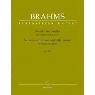 BRAHMS J. SONATES OP 120 VIOLON