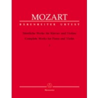 MOZART W.A. OEUVRES COMPLETES VOL 1 VIOLON