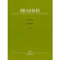 BRAHMS J. FANTAISIES OP 116 PIANO