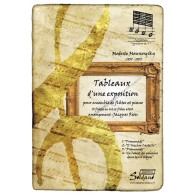 MOUSSORGSKY M. TABLEAUX D'UNE EXPOSITION 4 FLUTES PIANO