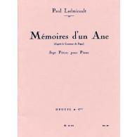 LADMIRAULT P. MEMOIRE D'UN ANE PIANO
