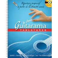 GUILLEM P./HOARAU J.C../KHALIFA M. LE PETIT GUITARAMA GUITARE TABLATURE