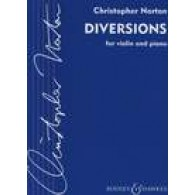 NORTON C. DIVERSIONS FOR  VIOLON