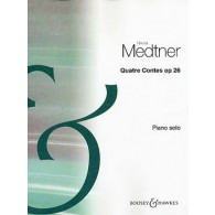 MEDTNER N. QUATRE CONTES OP 26 PIANO