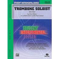 TANNER P./WEBBER F. TROMBONE SOLIST VOL 1 TROMBONE