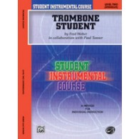 WEBER F./TANNER P. TROMBONE STUDENT VOL 2