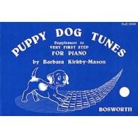 KIRBY-MASON B. PUPPY DOG TUNES FOR PIANO