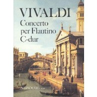 VIVALDI A. CONCERTO DO MAJEUR OP 44/11 FLUTE PICCOLO