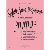 CALMEL R. SYLVIE JOUE DU PIANO