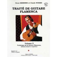 HERRERO O./WORMS C. TRAITE DE GUITARE FLAMENCA VOL 2
