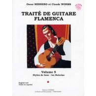 HERRERO O./WORMS C. TRAITE DE GUITARE FLAMENCA VOL 5