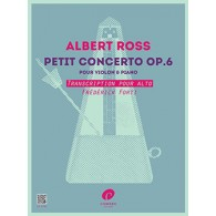 ROSS A. PETIT CONCERTO OP 6 ALTO
