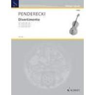 PENDERECKI K. DIVERTIMENTO VIOLONCELLE