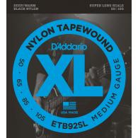 JEU DE CORDES BASSE D'ADDARIO ETB92SL NYLON SUPER LONG 50/105