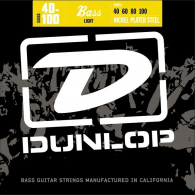 JEU DE CORDES BASSE DUNLOP STRINGS DBN40100 FILE ROND NICKEL 40/100