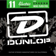 JEU DE CORDES ELECTRIQUE DUNLOP STRINGS DEN1150 FILE ROND NICKEL 11/50