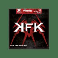 JEU DE CORDES ELECTRIQUE DUNLOP STRINGS KKN1052 SIGNATURE KERRY KING 10/52