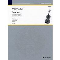 VIVALDI A. CONCERTO OP 3 N°8 VIOLONS