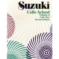 SUZUKI CELLO SCHOOL  VOL 6