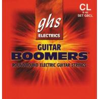 JEU DE CORDES ELECTRIQUE GHS STRINGS GBCL BOOMERS FILE ROND 09/46