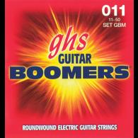 JEU DE CORDES ELECTRIQUE GHS STRINGS GBL BOOMERS FILE ROND 11/50