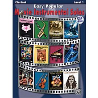 EASY POPULAR MOVIE INSTRUMENTAL SOLOS CLARINETTE