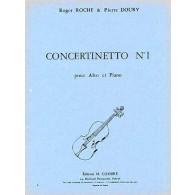 ROCHE R./DOURY P.  CONCERTINETTO N°1 ALTO