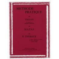 THIBAUX E. METHODE D'APRES MAZAS VOL 1 VIOLON