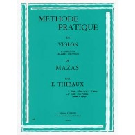 THIBAUX E. METHODE D'APRES MAZAS VOL 2 VIOLON