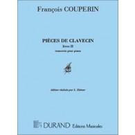 COUPERIN F. PIECES DE CLAVECIN LIVRE II CLAVECIN