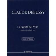 DEBUSSY C. LA PUERTA DEL VINO PIANO
