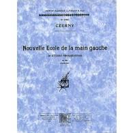 CZERNY K. NOUVELLE ECOLE DE LA MAIN GAUCHE OP 861 PIANO