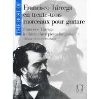 TARREGA F. THE BEST OF GUITARE